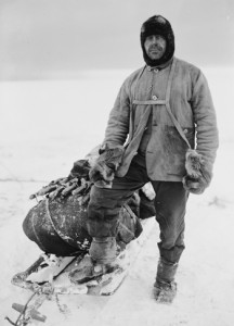 Captain Robert Falcon Scott, British Antarctic Expedition 1910-13. Photographer: Herbert Ponting