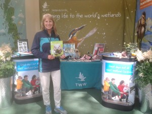 WWT's stand at RHS Chelsea Flower Show