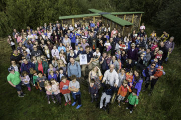 WWT Martin Mere Wetland Centre has been awarded a Guinness World Record for creating the worldÂ's largest bug hotel at 18.46m3.        The hotelÂ's residents already include leafcutter bees, mason bees, spiders, moths, a peacock butterfly, a frog and even a bat.    It took just one month for visitors...