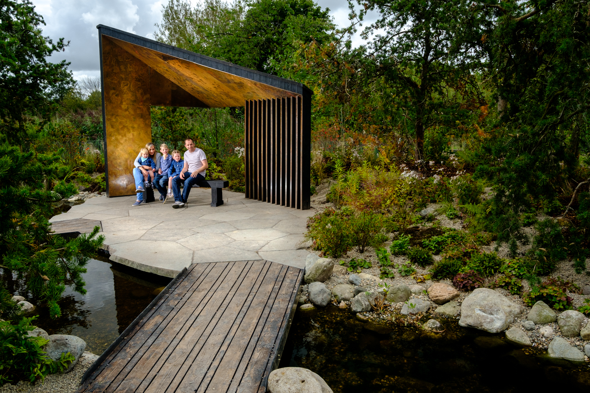 Inspired by the boreal forest and waterways of northern Ontario, the Gold medal winning Royal Bank of Canada Garden, as seen at the 2017 RHS Chelsea Flower Show has been relocated to WWT Martin Mere Wetland Centre.        The Royal Bank of Canada Garden from the 2017 RHS Chelsea Flower Show is...