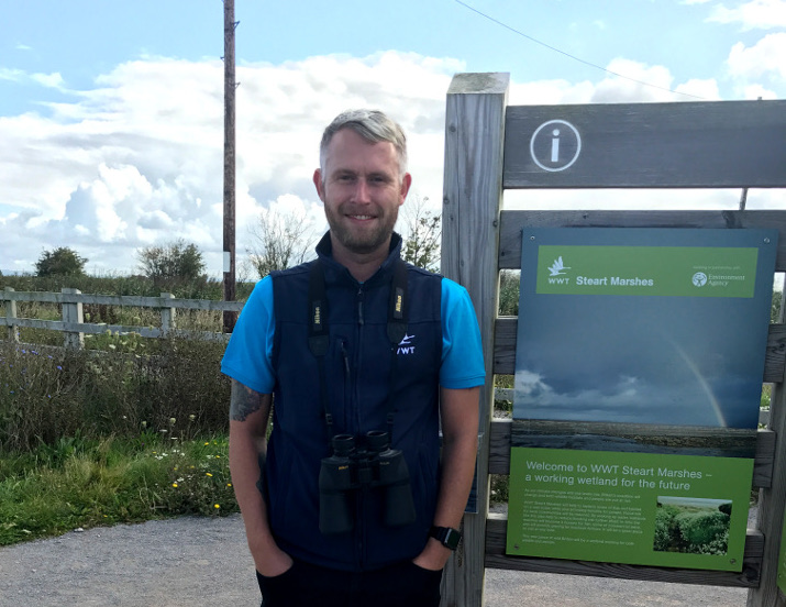 Our volunteer Daniel Modley talks about life on the Steart Marshes