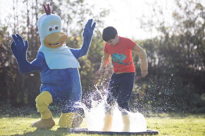 Dusty's Puddle Jumping Championships - splashtastic half-term fun!
