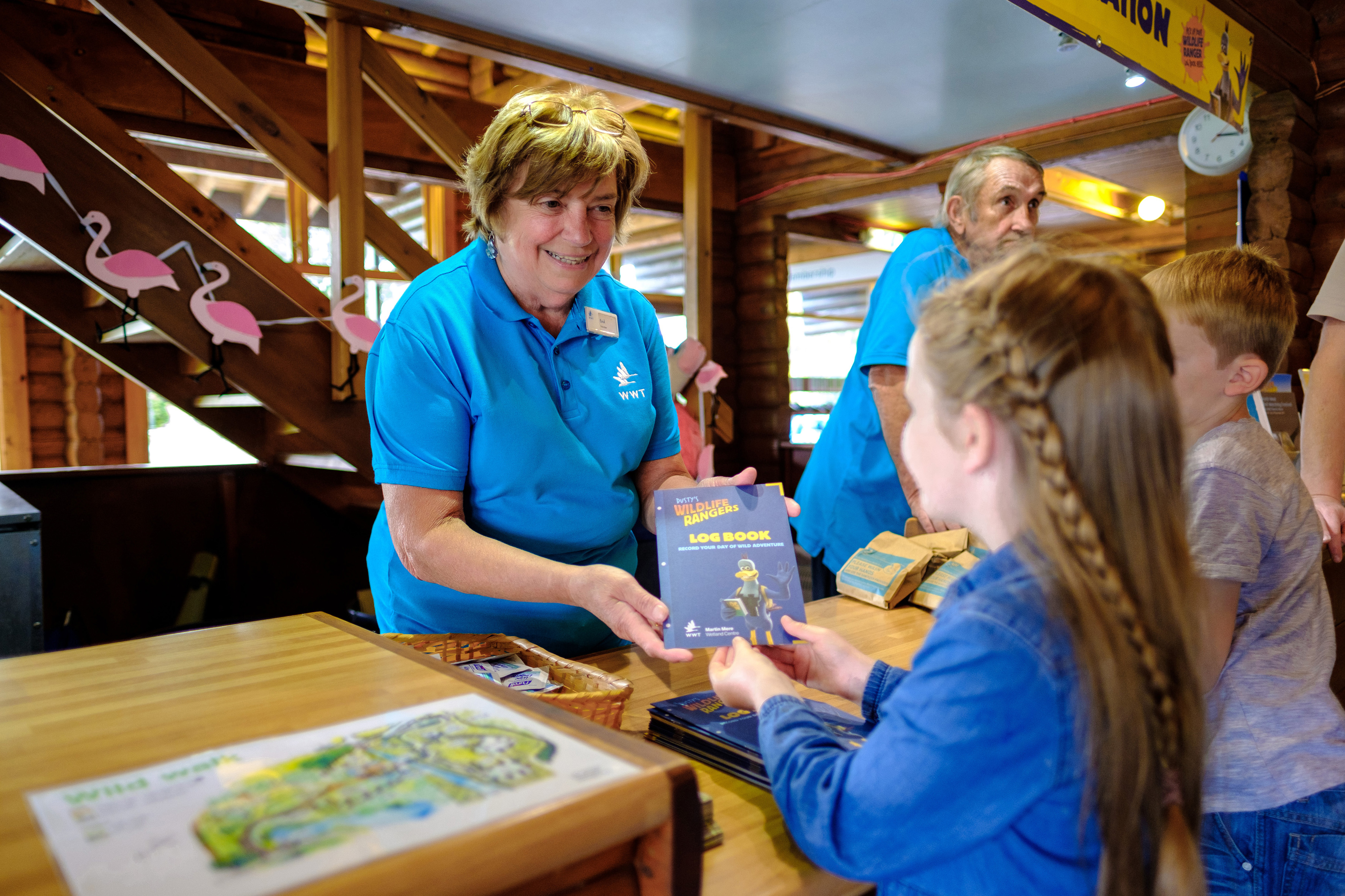 WWT Martin Mere Wetland Centre is looking for enthusiastic volunteers of all ages to come and join our welcome and visitor activity teams        The welcome team meets and greets all of our visitors, giving out day planners and centre information, as well as doing the otter talk and feed, white...