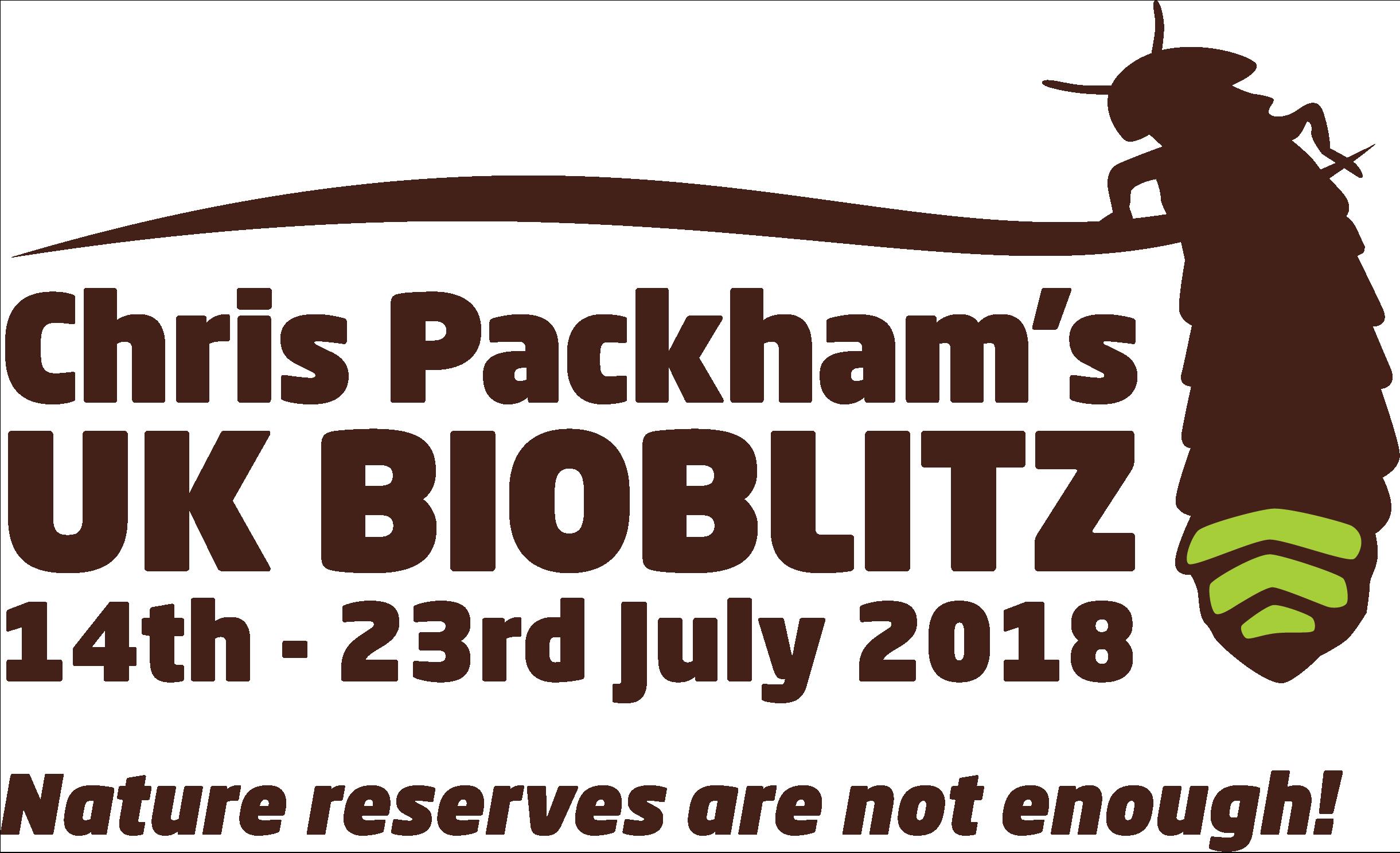 Chris Packham's UK Bioblitz Campaign