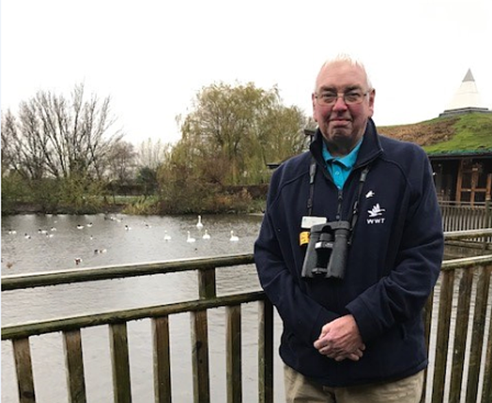 Longstanding Martin Mere volunteer gives us a sneak 'beak' into his day