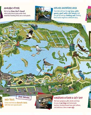 Centre London Map.Plan Your Visit Wwt