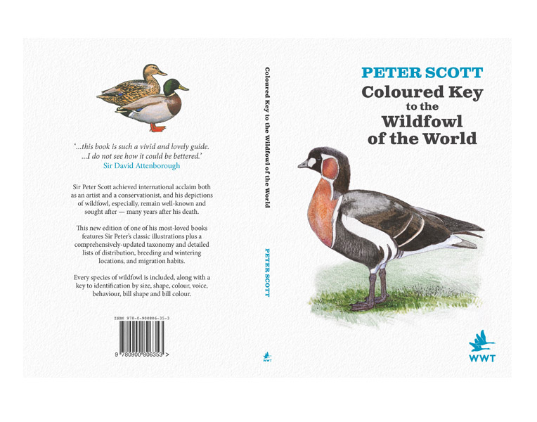 Peter Scott Coloured Key to the Wildfowl of the World