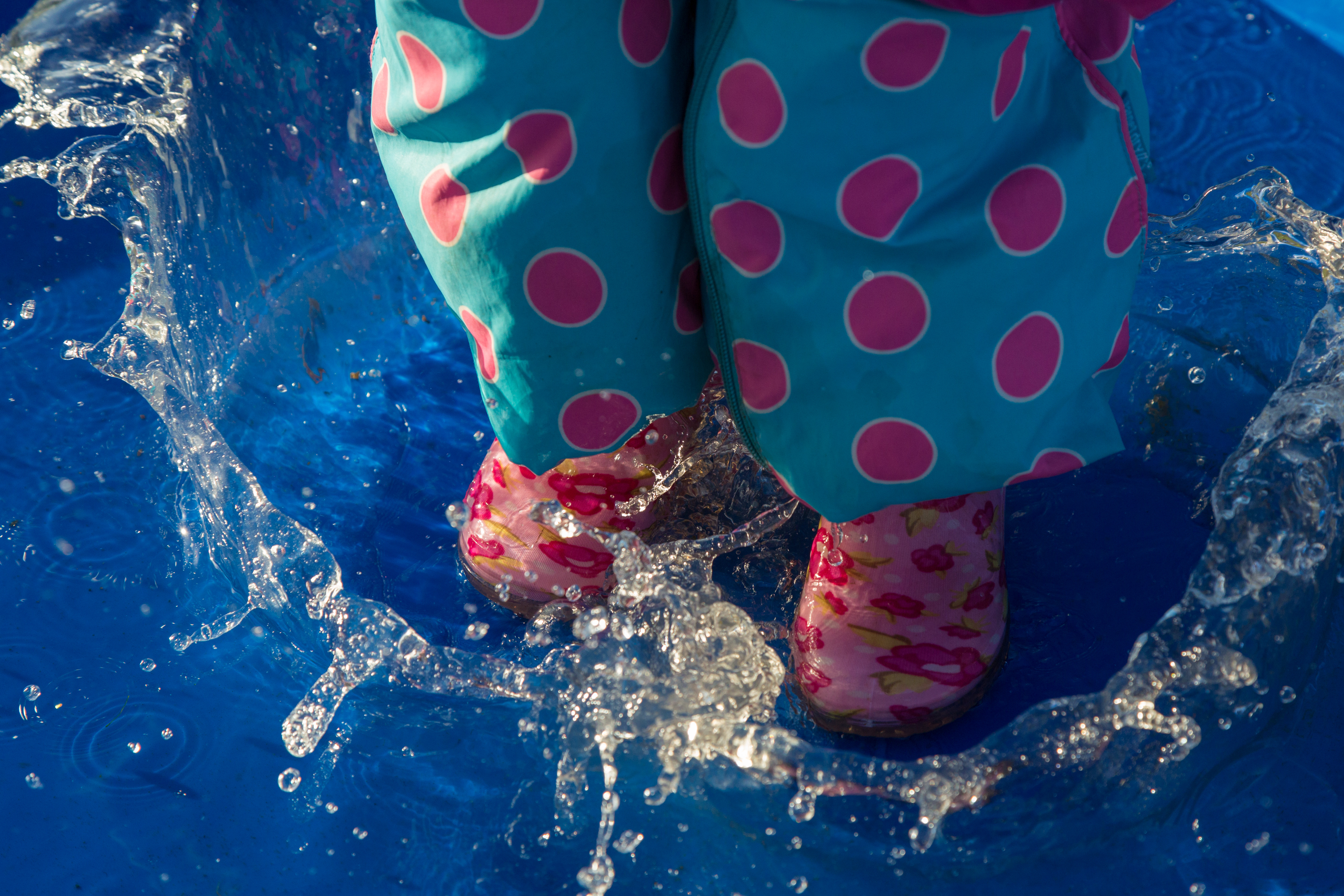 Have a splashing time February half term at the London Puddle Jumping Championships