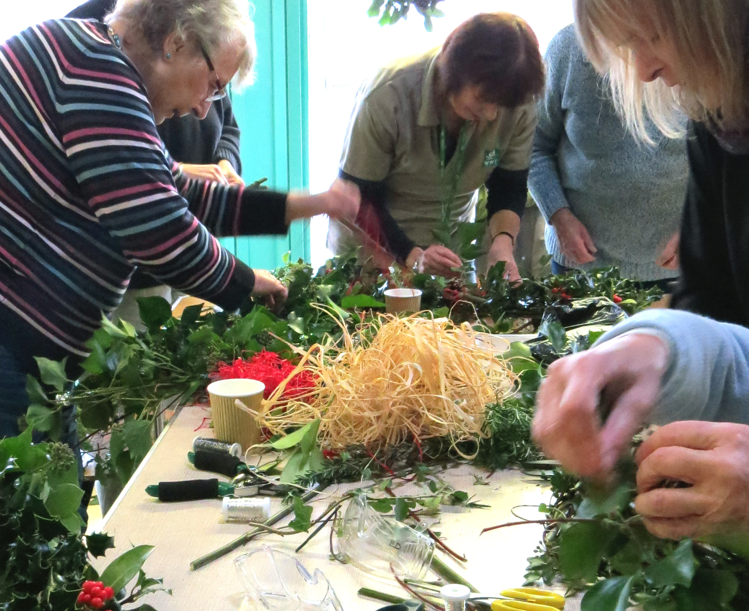 View: Wreath Making Workshop