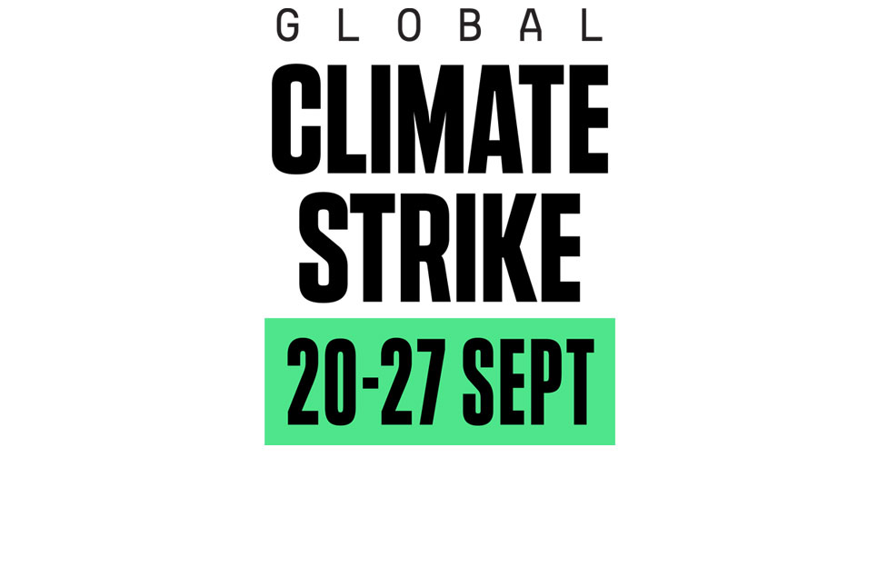 Support the global climate strikes