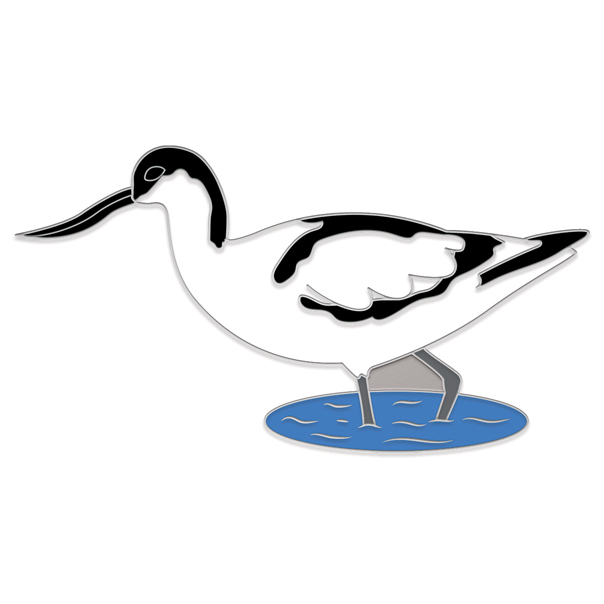 Avocet Pin Badge