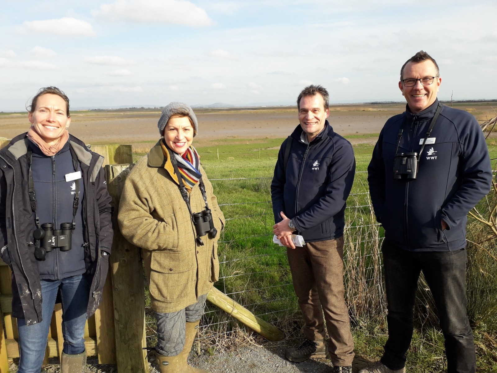 Environment Minister and Taunton Deane MP visits UK's largest wetland reserve to discover how wetlands can combat climate crisis