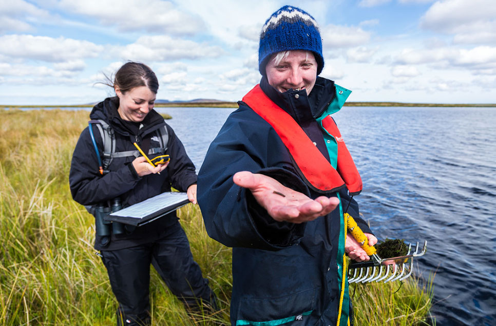 'I would love more people to see the amazing world below the surface of wetlands' - My Wild Life with Dr Hannah Robson