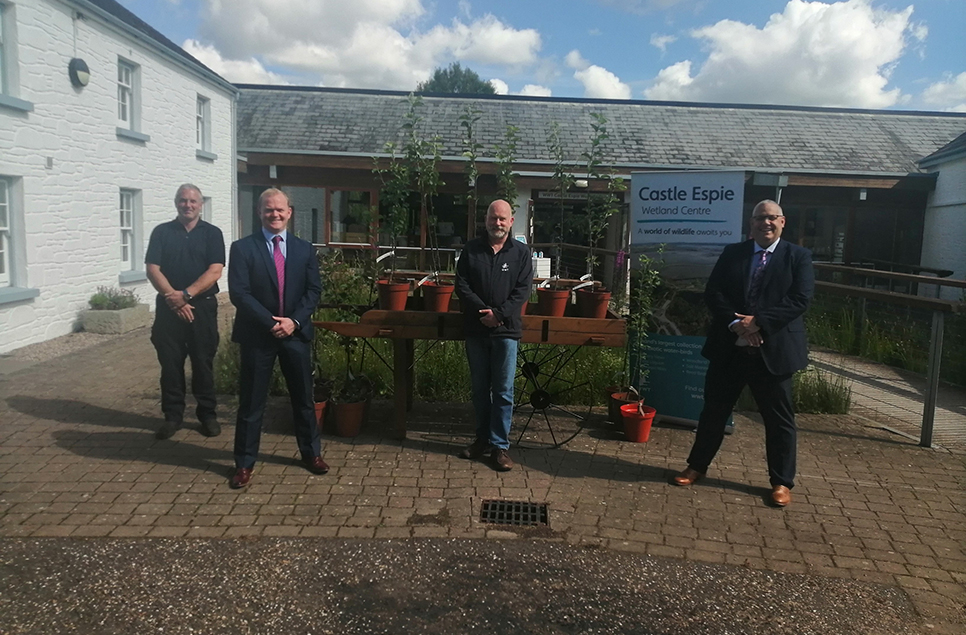 Castle Espie Wetland Centre teams up with Maghaberry Prison for Rehabilitation Programme
