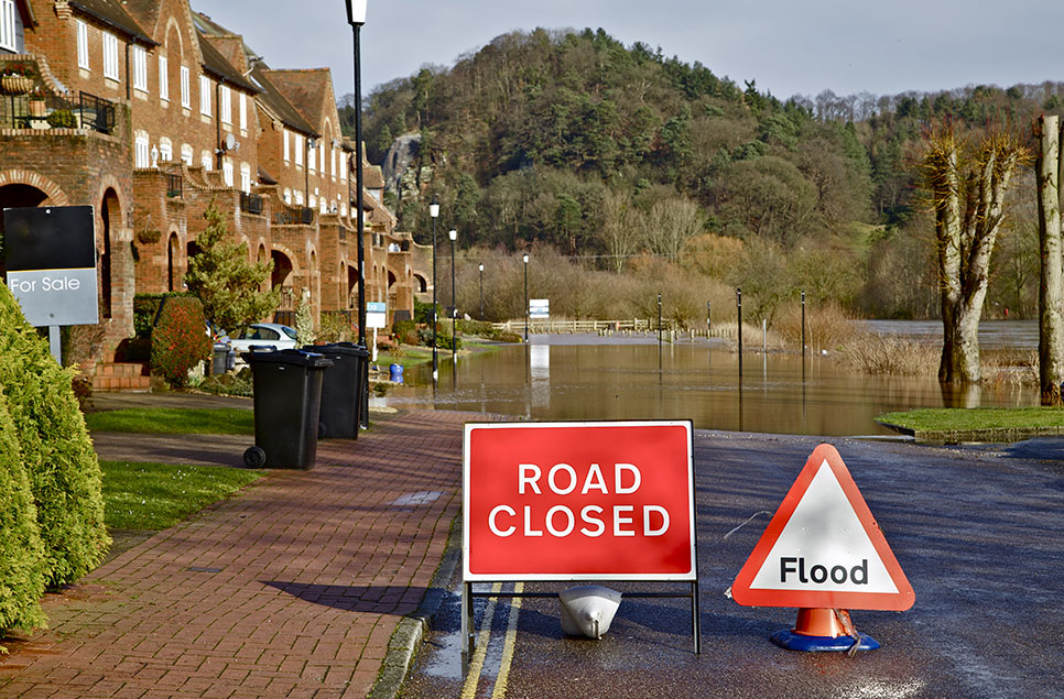 When traditional flood defences are no longer enough: wetlands and flood prevention