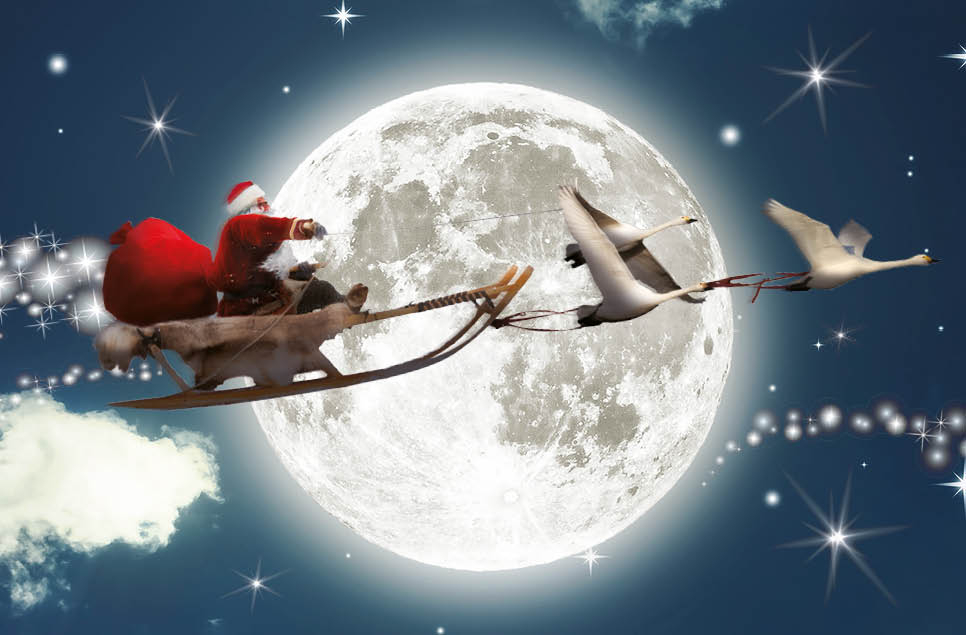 Santa is returning to Slimbridge